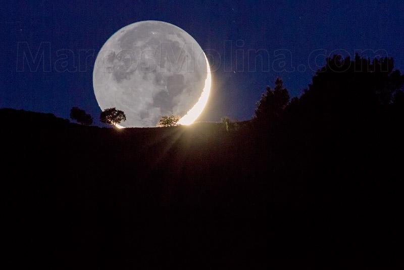 Fotografía Comentada: Retratando La Luna En El Paisaje